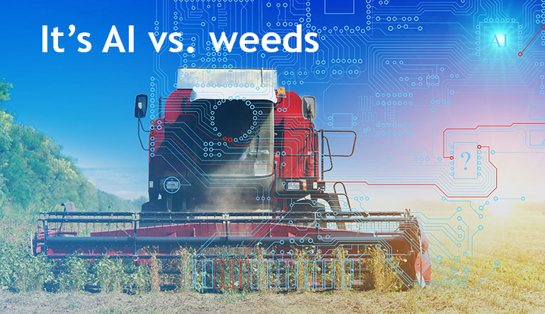 JAI-area-scan-camera-for-Artificial-Intelligence-in-farming-Weeds-Removal